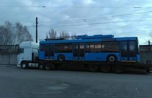 В Краматорск прибыли два троллейбуса