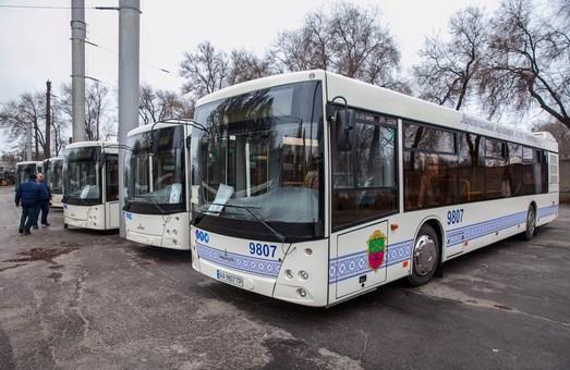 В Запорожье автобусы большого класса вышли еще на один маршрут