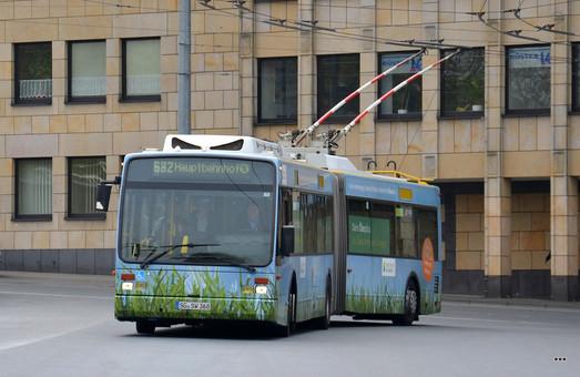 В немецком Золингене закупят новые троллейбусы с автономным ходом