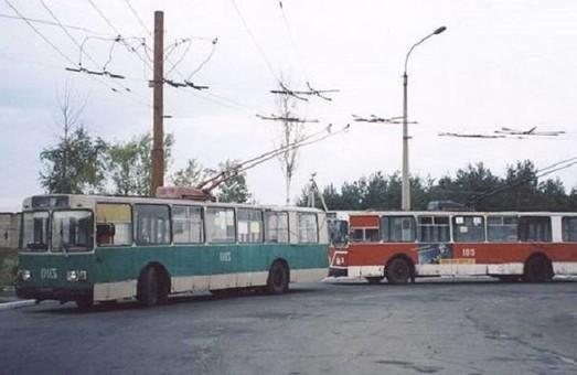 В Лисичанске временно прекратилось движение троллейбусов