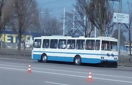 Первый чешский троллейбус уже прибыл в Херсон