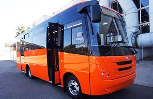 Запорожский автозавод освоил выпуск новой модели автобуса ЗАЗ А08