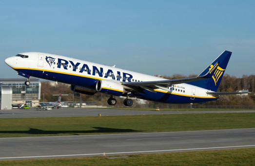 «Ryanair» открывает авиарейсы из Одессы в Берлин и три города в Польше