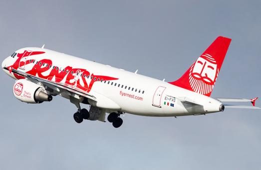 В Одессу будет летать итальянский лоукостер «Ernest Airlines»