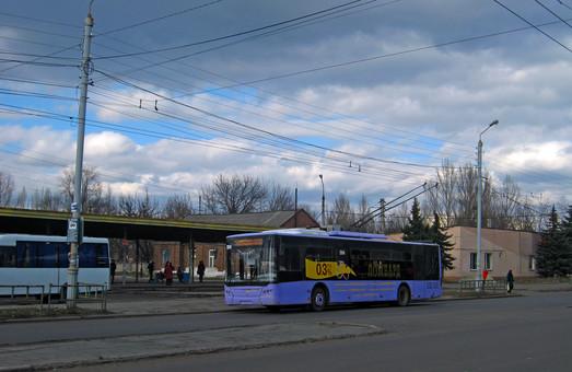 Троллейбусы Славянска нуждаются в капитальном ремонте