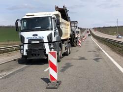 Как ремонтируют трассу Одесса - Киев (ФОТО)