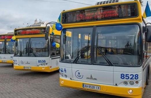 Мариуполь закупает автобусы-гармошки
