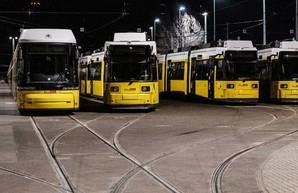 Вчера в Берлине остановился почти весь общественный транспорт