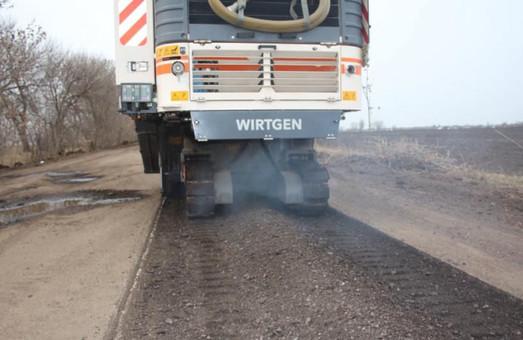 В Ренийском районе проводят ремонт дороги Новосельское – Котловина