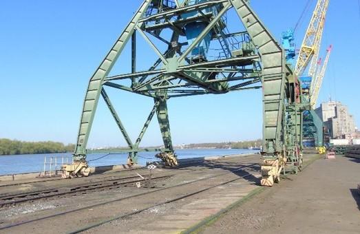 В порту Измаила отремонтируют подкрановые пути
