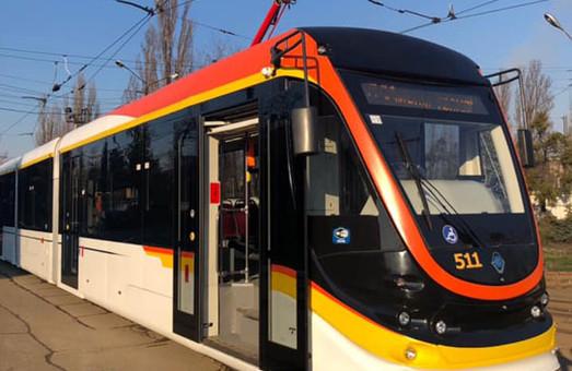 В Киеве представили новый трамвай от «Татра-Юг»