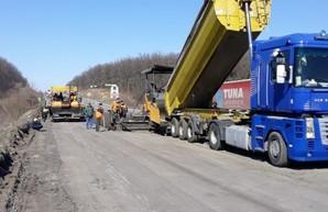 В Киевской области ремонтируют участок трассы М-05 Киев – Одесса