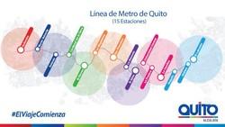 В Кито начали испытывать линию метрополитена