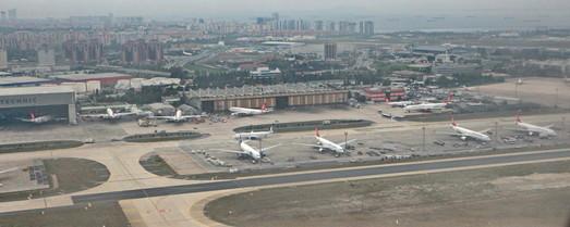 Аэропорт имения Кемаля Анатюрка в Стамбуле завершил свою работу