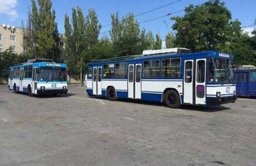Электротранспорт Херсона хотят дополнительно профинансировать на 600 тысяч гривен