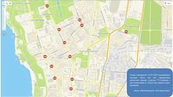 Завтра в центре Одессы ограничат движение транспорта