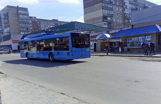 В Краматорске началась обкатка нового троллейбусного маршрута