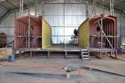 В Николаеве строят пассажирский катамаран класса «река-море»