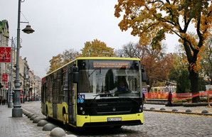 Несмотря на падение общее падения производства автомобилей в Украине, количество выпущенных автобусов растет