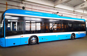 Винницкая транспортная компания своими силами собрала низкопольный троллейбус
