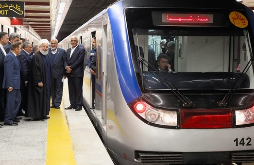 В столице Ирана открыли движение на новой линии метро