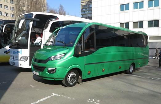 Из Киева в Харьков курсирует автобус румынско-итальянского производства