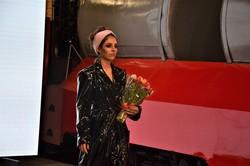 В музее электротранспорта Одессы проходят модные показы
