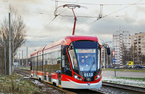 Санкт-Петербург закупает 21 новый низкопольный трамвай