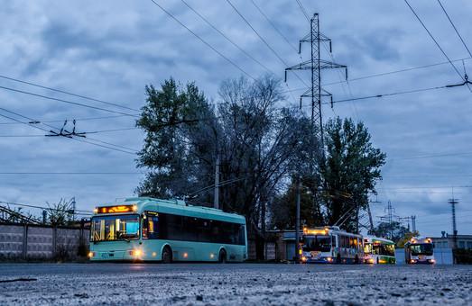 В Северодонецке снова останавливаются троллейбусы