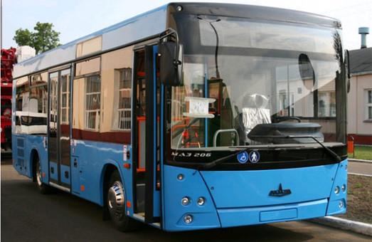 Автобусы МАЗ 206 для Николаева уже в Украине