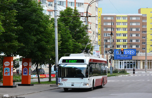 В молдавском городе Бельцы думают о запуске троллейбусов с автономным ходом и электробусов