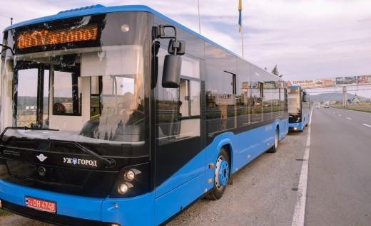 В Ужгороде хотят купить еще 10 автобусов большого класса