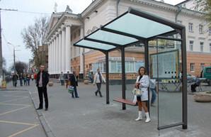 В Одессе установят полсотни новых павильонов на остановках
