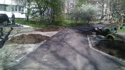 В Одессе проводят капремонт тротуаров