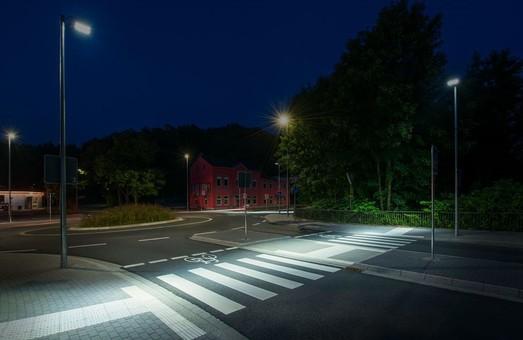 В этом году в Одессе появится 15 пешеходных переходов со специальным освещением