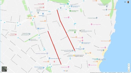 На улицах Тенистой и Педагогической в Одессе хотят ввести одностороннее движения