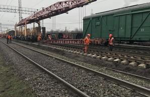 Одесские железнодорожники проводят капитальный ремонт путей