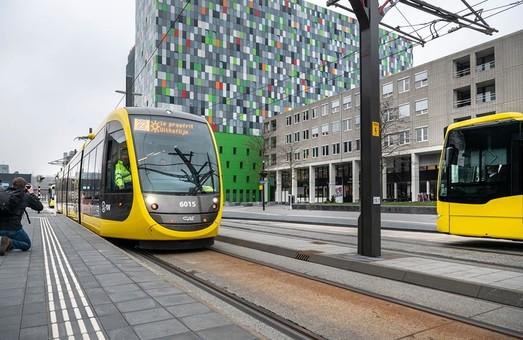 В Утрехте тестируют новую трамвайную линию
