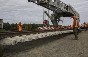 «Укрзализныця» в этом году планирует провести реконструкцию почти 300 километров путей