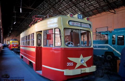 Одесский музей электротранспорта приглашает посетителей