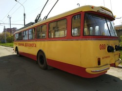 В Тернополе восстановили троллейбус «Škoda 9Tr»