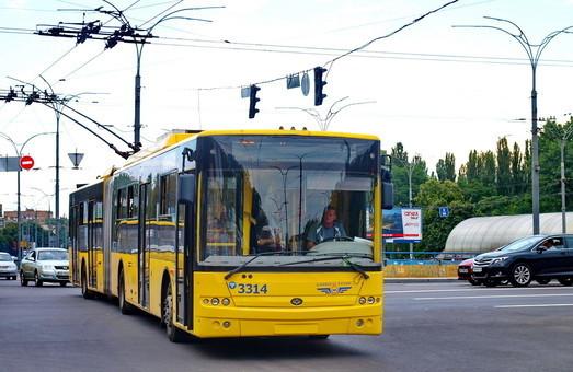 Черкассы хотят купить троллейбус-«гармошку» за 8 миллионов гривен