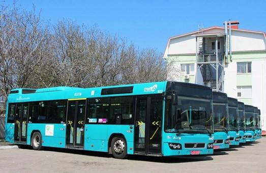 В Днепре на маршруты выйдут автобусы «Volvo»