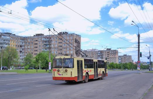 В Кривом Роге жители просят запустить троллейбусы в Ингулецкий район