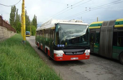В Кошице появился новый троллейбус