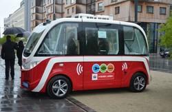 В Вене уже начинают работать автоматические электробусы