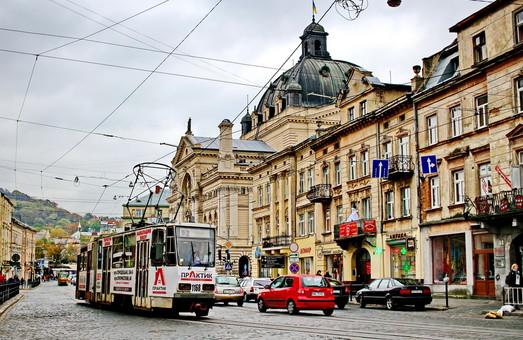 Во Львове четыре трамвайных маршрута поменяют свои трассы