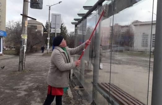 В Киеве уборкой станций скоростного трамвая будет заниматься стороння  компания
