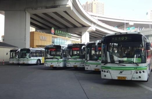 В Шанхае почти 2 тысячи автобусов ездят на биотопливе из кулинарного жира