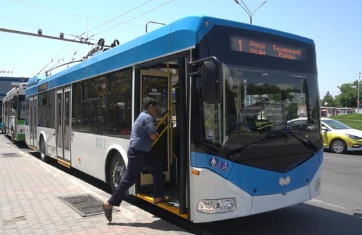 В столице Таджикистана появились новые троллейбусы с автономным ходом